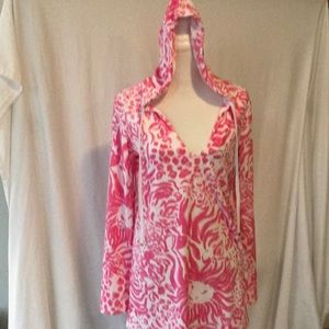 Lilly Pulitzer Terry  cover up.